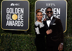 January 6, 2019 - Beverly Hills, California, United States of America - Ryan Michelle Bathe and Sterling K. Brown attend the 76th Annual Golden Globe Awards at the Beverly Hilton in Beverly Hills, California on  Sunday, January 6, 2019. HFPA/POOL/PI (Credit Image: © Prensa Internacional via ZUMA Wire)