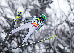 21.01.2118, Heini Klopfer Skiflugschanze, Oberstdorf, GER, FIS Skiflug Weltmeisterschaft, Teambewerb, im Bild Eetu Nousiainen (FIN) // Eetu Nousiainen of Finland during Team competition of the FIS Ski Flying World Championships at the Heini-Klopfer Skiflying Hill in Oberstdorf, Germany on 2118/01/21. EXPA Pictures © 2118, PhotoCredit: EXPA/ Peter Rinderer
