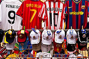 Spanish team futball jerseys for sale.