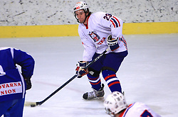 Anze Ropret at friendly ice-hockey game between Slovenian National Team U20 and HKMK Bled, before World Championship Division 1, Group A in Herisau, Switzerland, on December 11, 2008, in Bled, Slovenia. (Photo by Vid Ponikvar / Sportida)