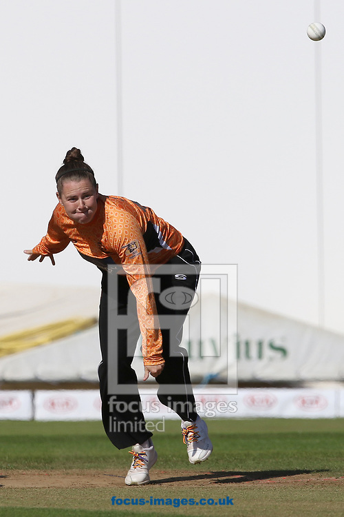 Linsey Smith of Southern Vipers during the Kia Super League match at the County Ground, Derby, Derby<br /> Picture by Robert Smith/Focus Images Ltd 07837 882029<br /> 15/08/2017