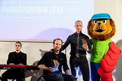 during Slovenian ParaSports personality of the year 2019 event, on January 21, 2020 in Austria Trend Hotel, Ljubljana, Slovenia. Photo by Vid Ponikvar / Sportida