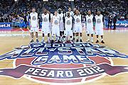 DESCRIZIONE : Pesaro Edison All Star Game 2012<br /> GIOCATORE : team<br /> CATEGORIA : team squadra<br /> SQUADRA : All Star Team<br /> EVENTO : All Star Game 2012<br /> GARA : Italia All Star Team<br /> DATA : 11/03/2012 <br /> SPORT : Pallacanestro<br /> AUTORE : Agenzia Ciamillo-Castoria/C.De Massis<br /> Galleria : FIP Nazionali 2012<br /> Fotonotizia : Pesaro Edison All Star Game 2012<br /> Predefinita :