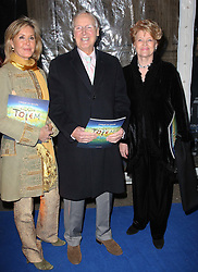 Nicholas Parsons with family  arriving at the Cirque Du Soleil: Totem - gala night held at  the Royal Albert Hall in London, Thursday 5th January 2012. Photo by: Stephen Lock / i-Images