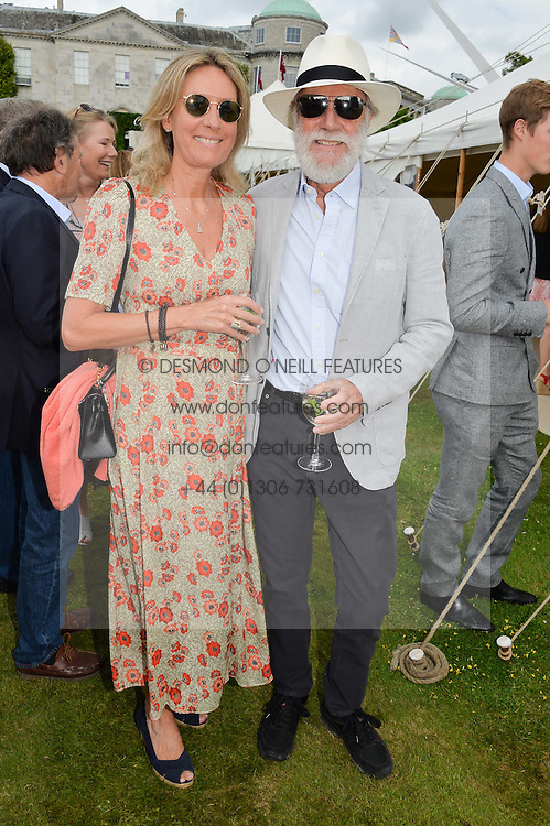 VISCOUNT & VISCOUNTESS COWDRAY at the Cartier hosted Style et Lux at The Goodwood Festival of Speed at Goodwood House, West Sussex on 26th June 2016.