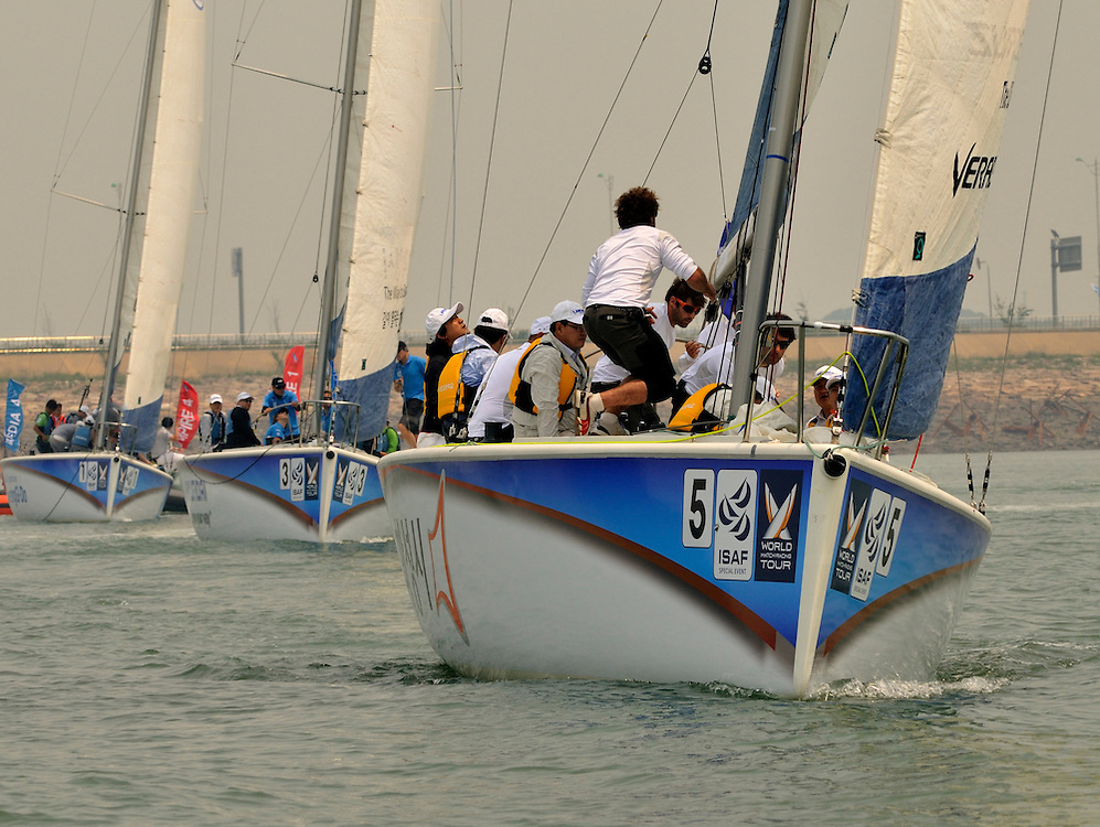 Crews competing for the Pro-Am race. Photo:Chris Davies/WMRT