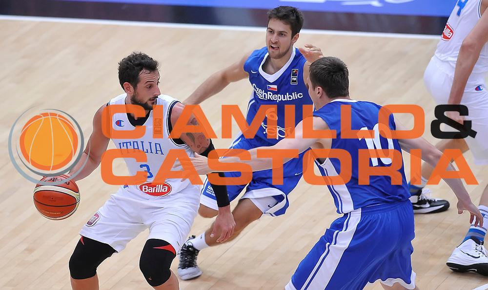 DESCRIZIONE : Trento Nazionale Italia Uomini Trentino Basket Cup Italia Repubblica Ceca Italy Czech Republic<br /> GIOCATORE : Marco Stefano Belinelli<br /> CATEGORIA : palleggio penetrazione<br /> SQUADRA : Italia Italy<br /> EVENTO : Trentino Basket Cup<br /> GARA : Trentino Basket Cup Italia Repubblica Ceca Italy Czech Republic<br /> DATA : 17/06/2016<br /> SPORT : Pallacanestro<br /> AUTORE : Agenzia Ciamillo-Castoria/A.Scaroni<br /> Galleria : FIP Nazionali 2016<br /> Fotonotizia : Trento Nazionale Italia Uomini Trentino Basket Cup Italia Repubblica Ceca Italy Czech Republic
