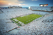 """White Out"" -- Penn State vs. Notre Dame -- Beaver Stadium, State College, PA"