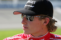 Ryan Briscoe at the Michigan International Speedway, Firestone Indy 400, July 31, 2005