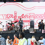 THE AMERICANS perform live at Kew The Music Festival 2018 on 11th July 2018,  London, UK.