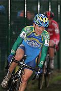 LOENHOUT / CYCLING / CYCLISME / WIELRENNEN / CYCLOCROSS / VELDRIJDEN / ELITE / AZENCROSS / BPOST BANK TROFEE VELDRIJDEN / BART AERNOUTS /