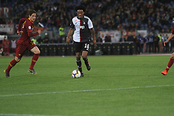 May 12, 2019 - Rome, Italy, Italy - (Juan Cuadrado) At Stadio Olimpico, As Roma beat Juventus 2-0  with the goal of Alessandro Florenzi and Edin Dzeko (Credit Image: © Paolo Pizzi/Pacific Press via ZUMA Wire)