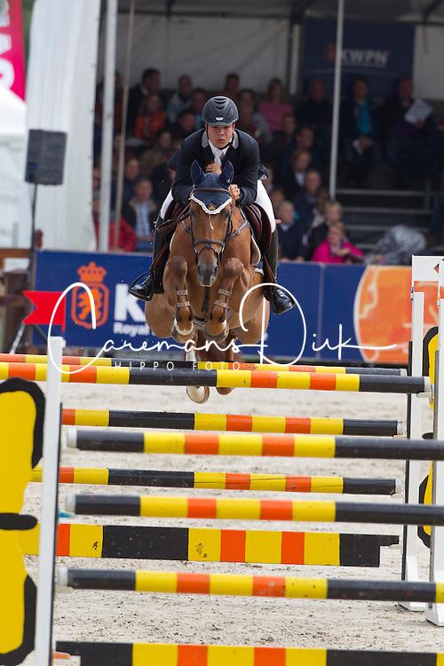 Vincentius Alexander (NED) - Zadarijke<br /> KWPN Paardendagen 2011 - Ermelo 2011<br /> &copy; Dirk Caremans