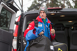 04.01.2015, Bergisel Schanze, Innsbruck, AUT, FIS Ski Sprung Weltcup, 63. Vierschanzentournee, Innsbruck, vor dem Probesprung, im Bild Gregor Schlierenzauer (AUT) // Gregor Schlierenzauer of Austria before Trial Jump for the 63rd Four Hills Tournament of FIS Ski Jumping World Cup at the Bergisel Schanze in Innsbruck, Austria on 2015/01/04. EXPA Pictures © 2015, PhotoCredit: EXPA/ JFK