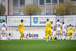 Arnel Jakupovic of Domzale scores during football match between NK Domzale and NK Triglav in Round #18 of Prva liga Telekom Slovenije 2019/20, on November 23, 2019 in Sports park Domzale, Slovenia. Photo by Sinisa Kanizaj / Sportida