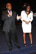 14 April 2010- New York, NY- l to r: Rev. Al Sharpton, and Tamika Mallory at the Executive Director's Reception hosted by Veronica Webb and Andre Harrell and held at The Central Park East Ballroom, Sheraton New York Hotel on April 14, 2010 in New York City.