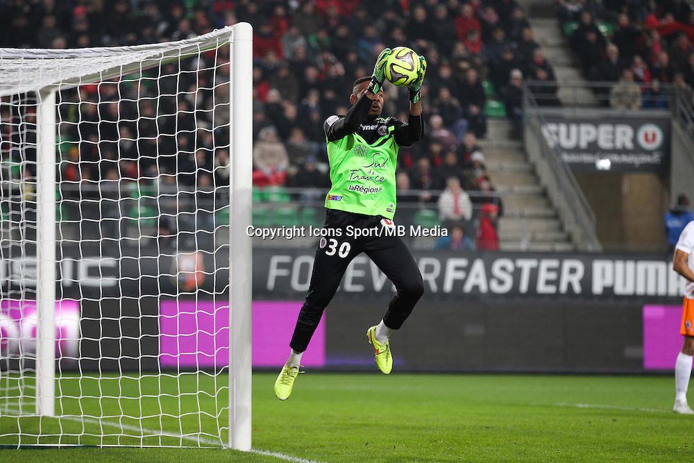 Jonathan LIGALI - 06.12.2014 - Rennes / Montpellier - 17eme journee de Ligue 1 -<br />Photo : Vincent Michel / Icon Sport