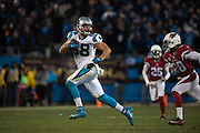 January 24, 2016: Carolina Panthers vs Arizona Cardinals. Greg Olsen