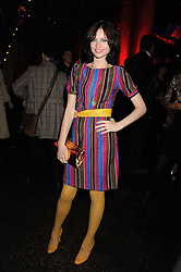 SOPHIE ELLIS-BEXTOR at the annual Serpentine Gallery Summer Party in Kensington Gardens, London on 9th September 2008.