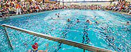 07-05-2014 : WATERPOLO : ZVL - GZC DONK : LEIDEN<br /> <br /> Zwembad de Zijl in Leiden<br /> Play-offs Eredivisie Dames - Seizoen 2013/2014<br /> <br /> Foto: Gertjan Kooij