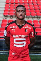 Edson Andre Sitoe Mexer - 15.09.2015 - Photo officielle Rennes - Ligue 1 2015/2016<br /> Photo : Philippe Le Brech / Icon Sport