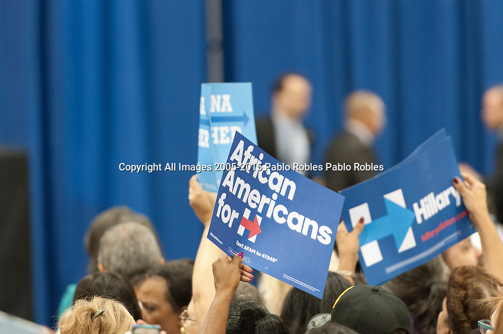 October 20, 2016. Michelle Obama visits Downtown Phoenix to rally for Hillary Clinton at the Convention Center.