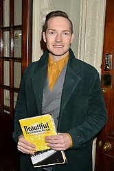 DAN GILLESPIE SELLS at Beautiful - The Carole King Musical 1st Birthday celebration evening at The Aldwych Theatre, London on 23rd February 2016.