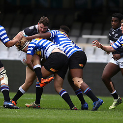General views during the SA Rugby U19 Championship match between The Cell C Sharks and the  DHL Western Province Under-19 at Jonsson Kings Park Stadium,Durban.South Africa. 20th October2018,(Photo by Steve Haag)