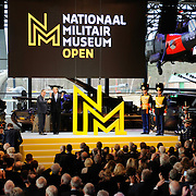 Koning Willem Alexander opent Nationaal Militair Museum op het voormalig vliegveld Soesterg. In het museum zijn de collecties van het Legermuseum in Delft en het Militair Luchtvaart Museum in Soesterberg samengevoegd. <br /> <br /> <br /> King Willem Alexander opens National Military Museum at the former airport Soesterg. In the museum are the collections of the Army Museum in Delft and the Military Aviation Museum in Soesterberg merged.<br /> <br /> op de foto / On the photo: <br /> <br />  Koning Willem-Alexander en directeur Stichting Defensiemusea Paul van Vlijmen verrichten de opening<br /> <br /> <br /> King Willem-Alexander and Director Defence Foundation Museums Paul van Vlijmen perform the opening