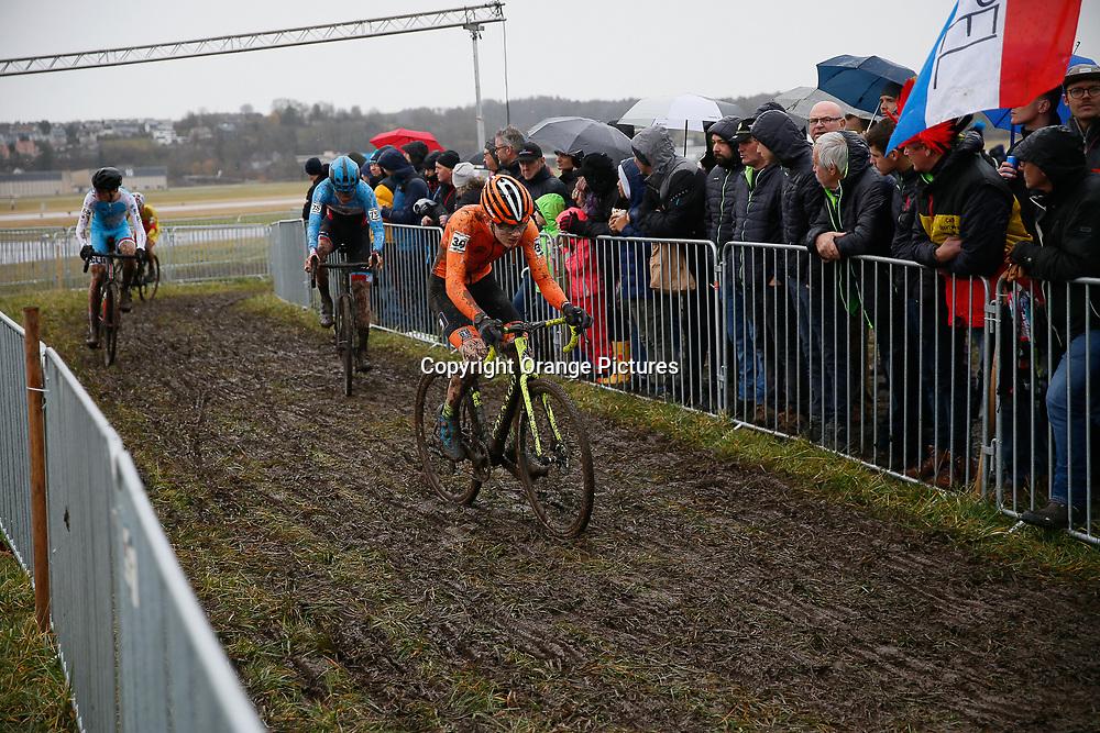 02-02-2020: Wielrennen: WK Veldrijden: Dubendorf <br /> Bailey Groenendaal