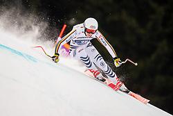 27.01.2019, Kandahar, Garmisch, GER, FIS Weltcup Ski Alpin, Abfahrt, Damen, im Bild Meike Pfister (GER) // Meike Pfister of Germany in action during her run in the ladie's Downhill of FIS ski alpine world cup at the Kandahar in Garmisch, Germany on 2019/01/27. EXPA Pictures © 2019, PhotoCredit: EXPA/ Dominik Angerer