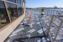 Boathouse at Canal Dock Phase II | State Project #92-570/92-674 Construction Progress Photo Documentation No. 19 on 8 February 2018. Image No. 31