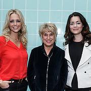 NLD/Amsterdam/20131104 - Lunch genomineerde Musical Awards Gala 2013, Chantal Janzen, Jenny Arean en Kim Lian van der Meij