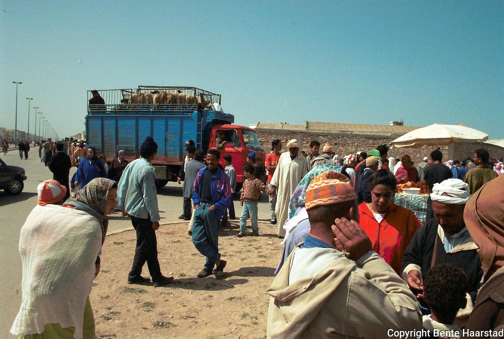 Essouira, Marokko..neg