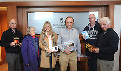 Michael McCarthy, Sue Minish, Ann O&rsquo;Leary, Alex Blackwell, Neil Paul and Seamus McNally pictured at &rsquo;Self Publishing for Success&rsquo; at Westport&rsquo;s Rolling Sun Book festival over the weekend.<br /> Pic Conor McKeown