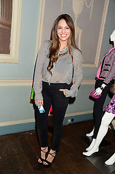 ZARA MARTIN at the Juicy Couture - Viva La Juicy perfume Party held at Home House, Portman Square, London on 30th May 2013.