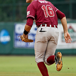 June 04, 2011; Tallahassee, FL, USA; Florida State Seminoles first baseman Jayce Boyd (16) before the start of the Tallahassee regional of the 2011 NCAA baseball tournament game against the Alabama Crimson Tide at Dick Howser Stadium. Mandatory Credit: Derick E. Hingle