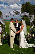 Matt and Chris' Idaho wedding.  Bear Lake, Idaho.<br /> <br /> Copyrighted by German Silva