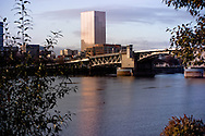 US Bank Corp Tower from Willamette River