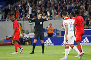 Letexier Francois Referee during the French championship L1 football match between Olympique Lyonnais and Amiens on August 12th, 2018 at Groupama stadium in Decines Charpieu near Lyon, France - Photo Romain Biard / Isports / ProSportsImages / DPPI