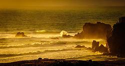 Evening light on the sea stacks at Mangersta, Isle of Lewis, Outer Hebrides, Scotland<br /> <br /> (c) Andrew Wilson   Edinburgh Elite media