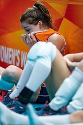 20-10-2018 JPN: Final World Championship Volleyball Women day 18, Yokohama<br /> China - Netherlands 3-0 / Yvon Belien #3 of Netherlands