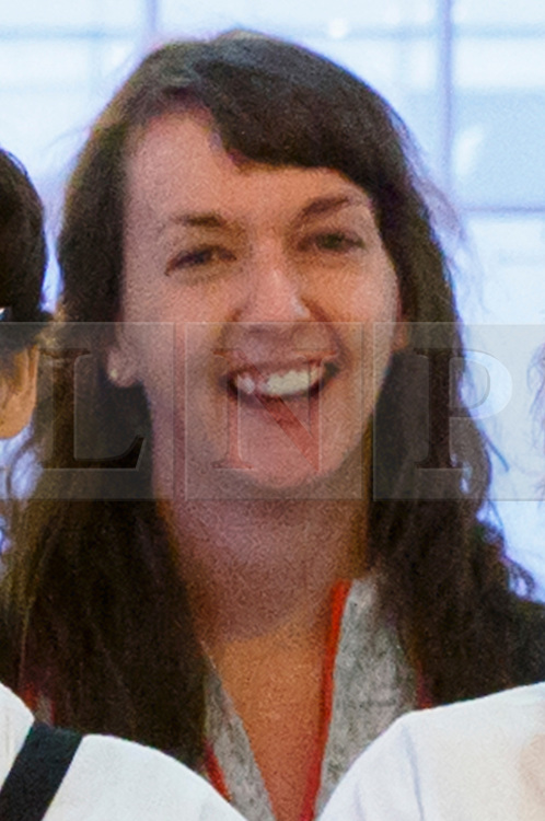 © Licensed to London News Pictures. 30/12/14. LONDON, UK. (File picture dated 22/11/2014). Nurse Pauline Cafferkey seen with a group of doctors and nurses leaving Heathrow Terminal 4 on 22 November 2014 for Freetown, Sierra Leone to treat Ebola patients. Pauline Cafferkey, the Scottish NHS nurse from Glasgow is believed to have contracted Ebola while working for Save the Children treating the sick in Sierra Leone. Photo credit : Tolga Akmen/LNP