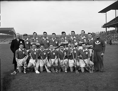 Hurling Railway Cup Final, Munster v. Leinster.Munster Team.17.03.1962