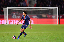 November 2, 2018 - Paris, Ile-de-France, France - Marquinhos #5 during the french Ligue 1 match between Paris Saint-Germain (PSG) and Lille (LOSC) at Parc des Princes stadium on November 2, 2018 in Paris, France. (Credit Image: © Julien Mattia/NurPhoto via ZUMA Press)