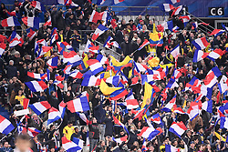 March 23, 2018 - Saint Denis, France - ILLUSTRATION - SUPPORTERS - DRAPEAUX (Credit Image: © Panoramic via ZUMA Press)