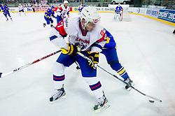 Rok Pajic of Slovenia during ice-hockey match between Slovenia and Ukraine at IIHF World Championship DIV. I Group A Slovenia 2012, on April 19, 2012 in Arena Stozice, Ljubljana, Slovenia. (Photo by Vid Ponikvar / Sportida.com)