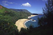 Lumahai Beach, Kauai, Hawaii, USA<br />