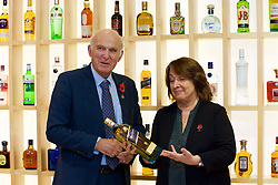 Liberal Democrat leader Vince Cable with Christine Jardine, Lib Dem MP for Edinburgh West at the Diageo offices, Edinburgh Gyle. pic copyright Terry Murden @edinburghelitemedia