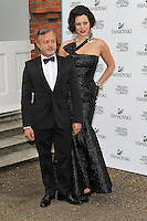LONDON - JUNE 27: Jacques Azagury; Immodesty Blaize attended the English National Ballet Summer Party, The Orangery, Kensington Palace, London, UK, June 27, 2012.(Photo by Richard Goldschmidt)
